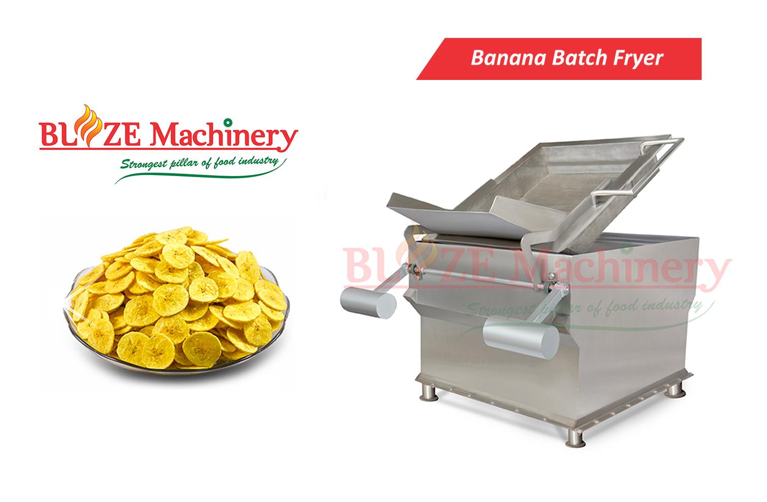 Banana Batch Fryer