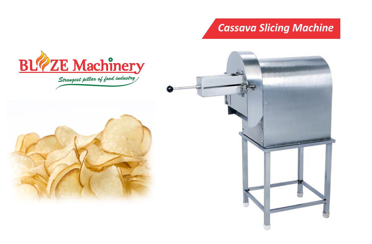 Cassava Slicing Machine