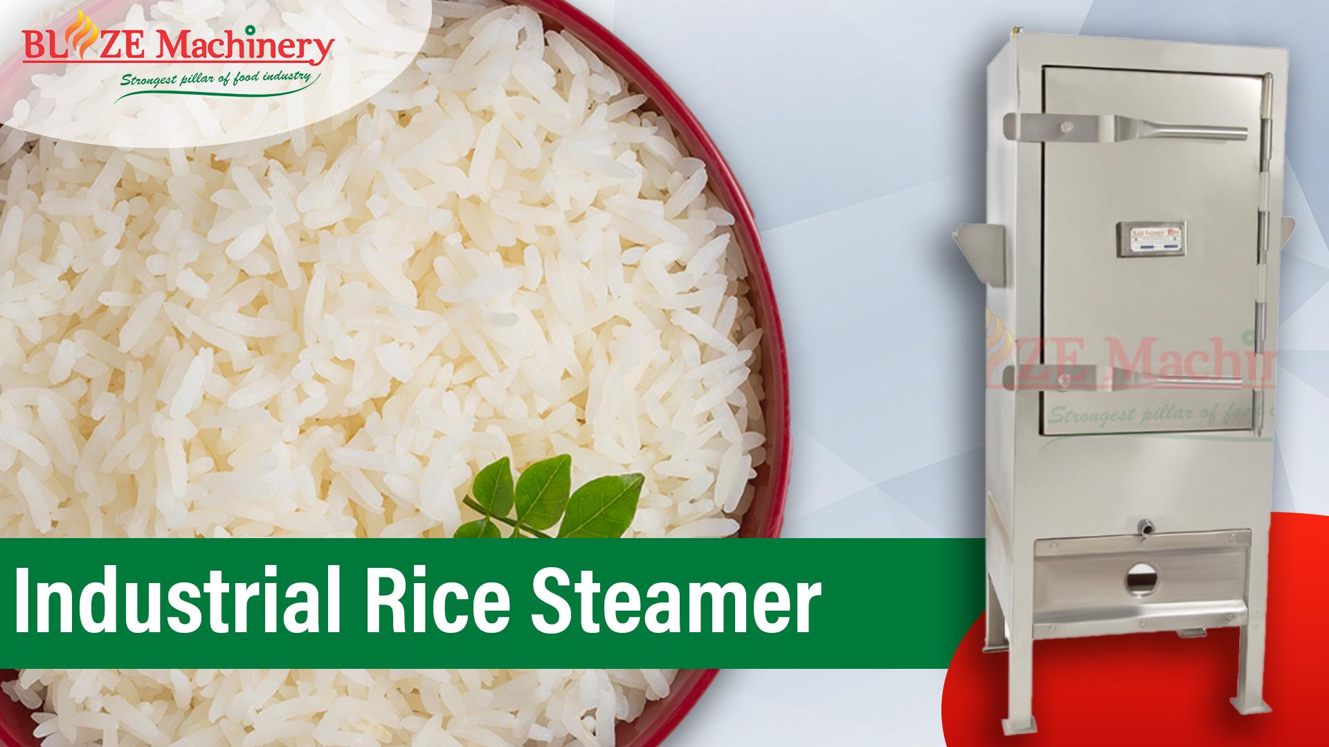 Industrial Rice Steamer