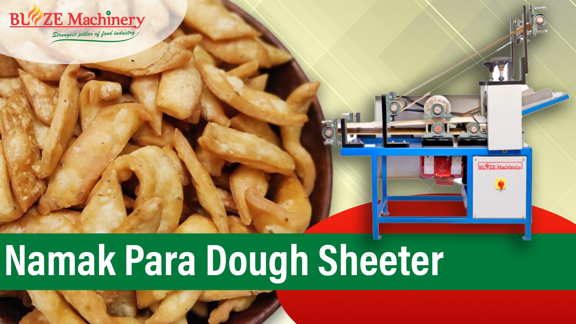 Namak Para Dough Sheeter