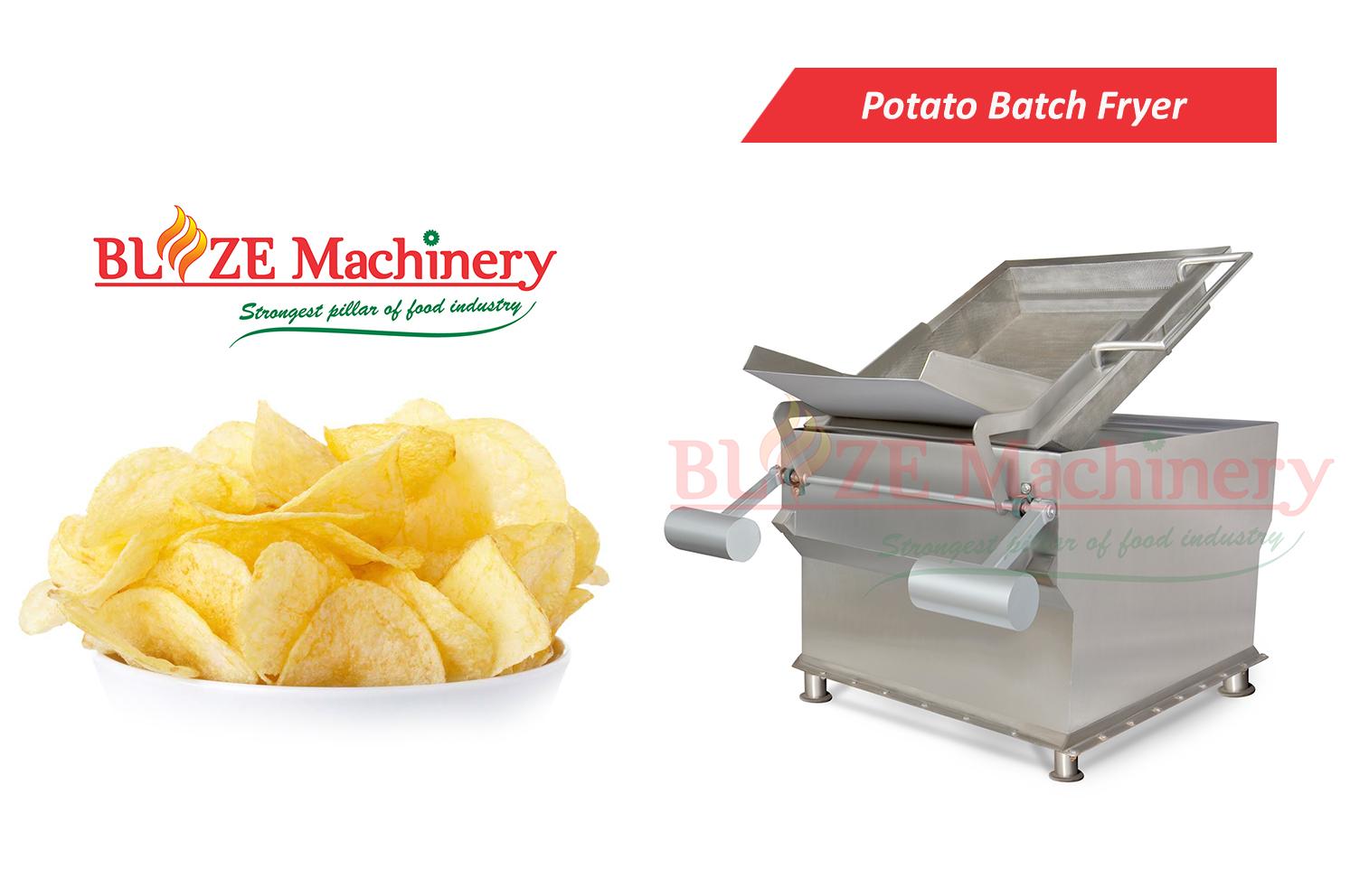 Potato Sticks Batch Fryer
