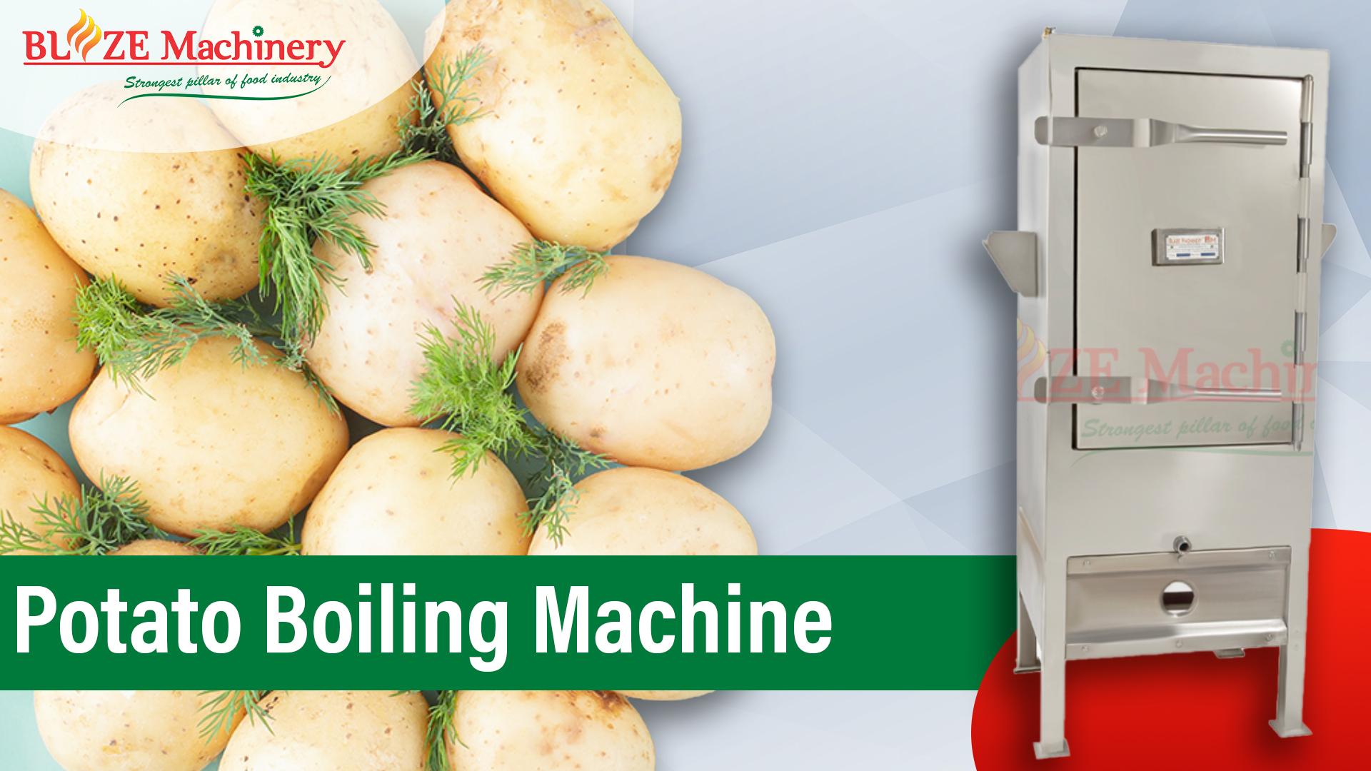 Potato Boiling Machine