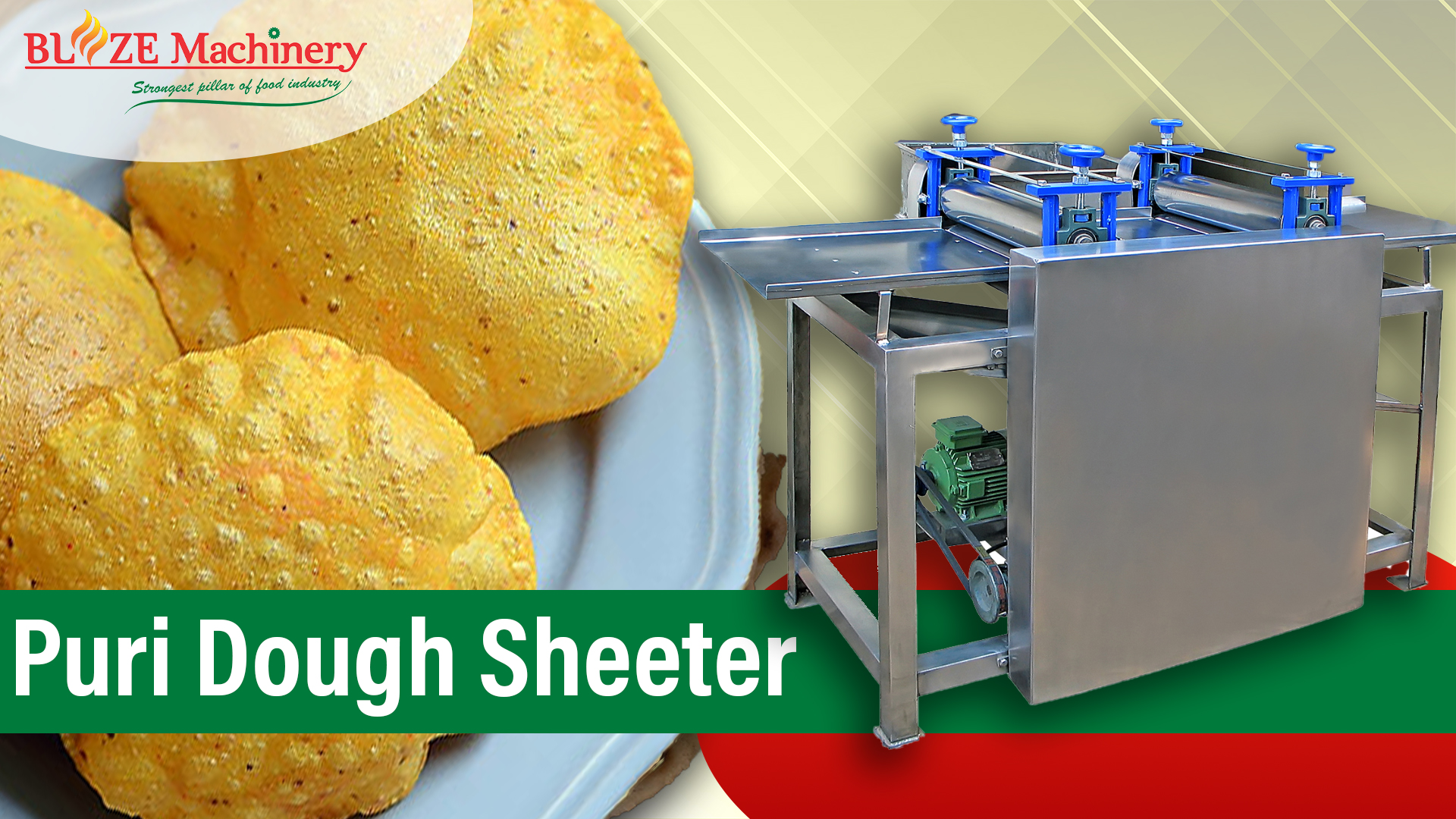 Puri Dough Sheeter