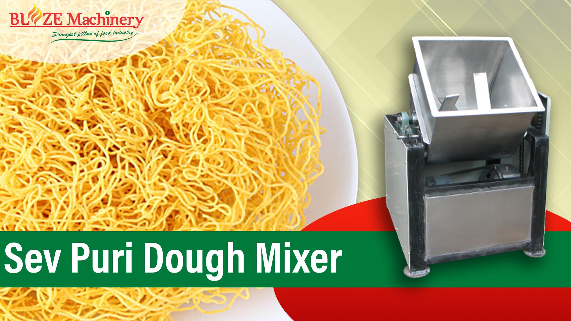 Sev Puri Dough Mixer