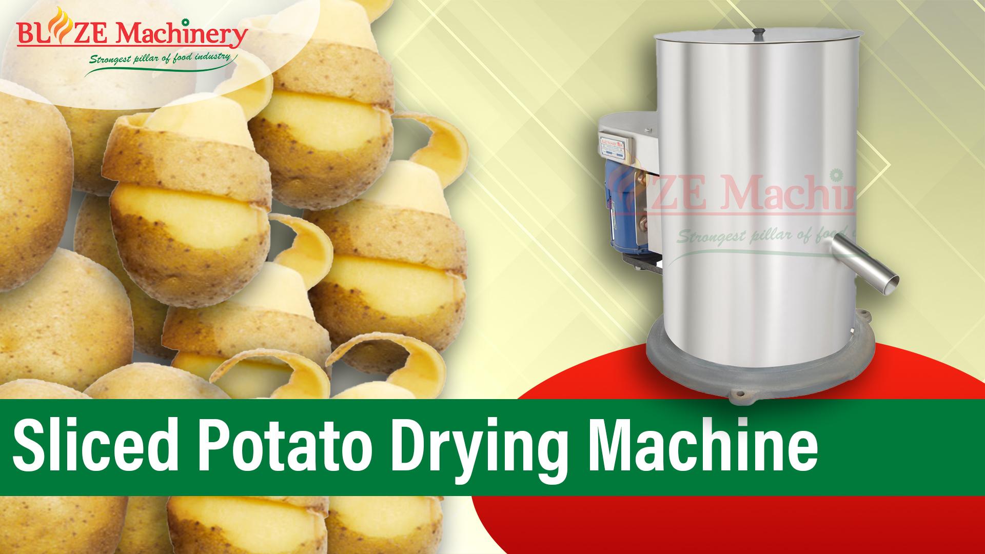 Sliced Potato Drying Machine