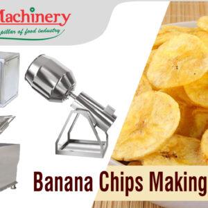 Banana Chips Making Plant / Machine