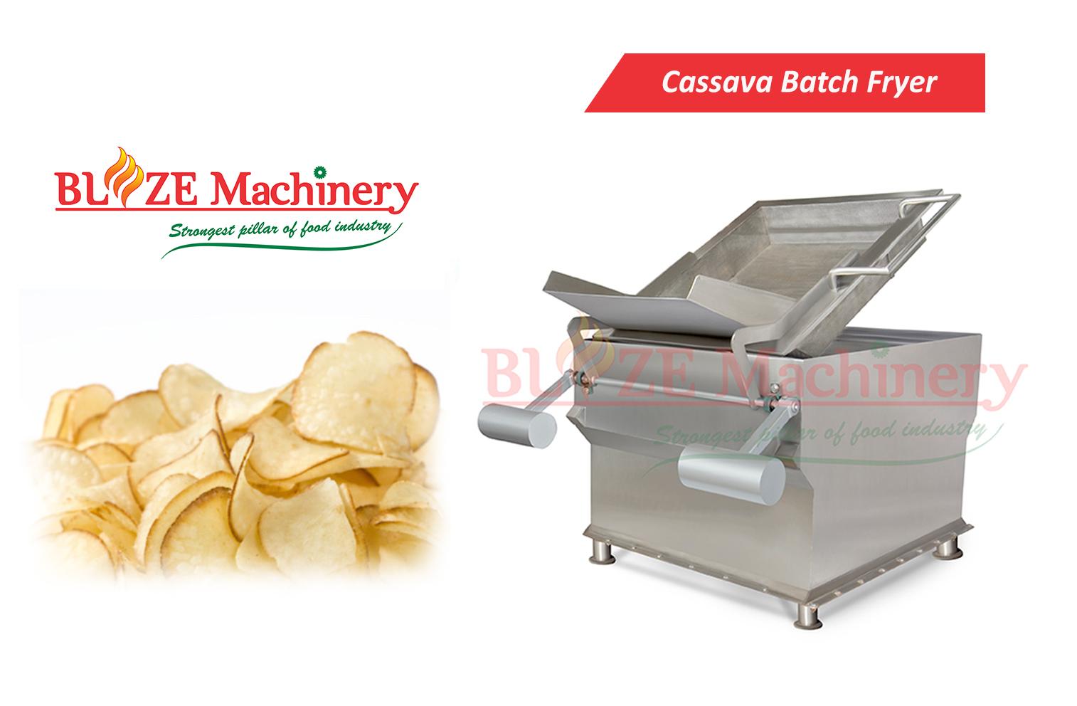 Cassava Chips Frying Machine