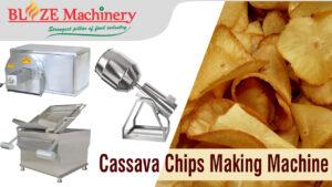 Cassava Chips Making Machine