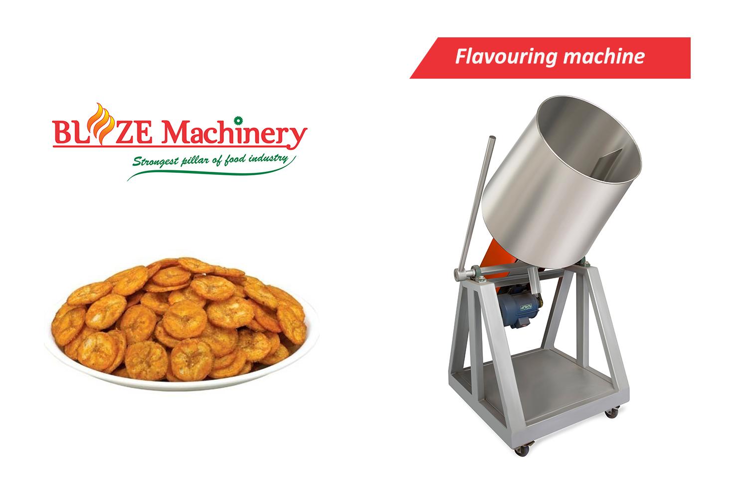 Cassava Chips Flavouring Machine