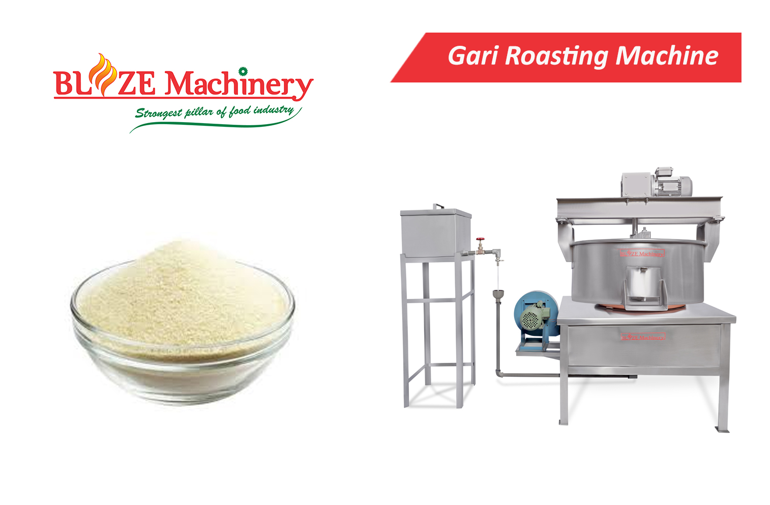 Gari Roasting Machine