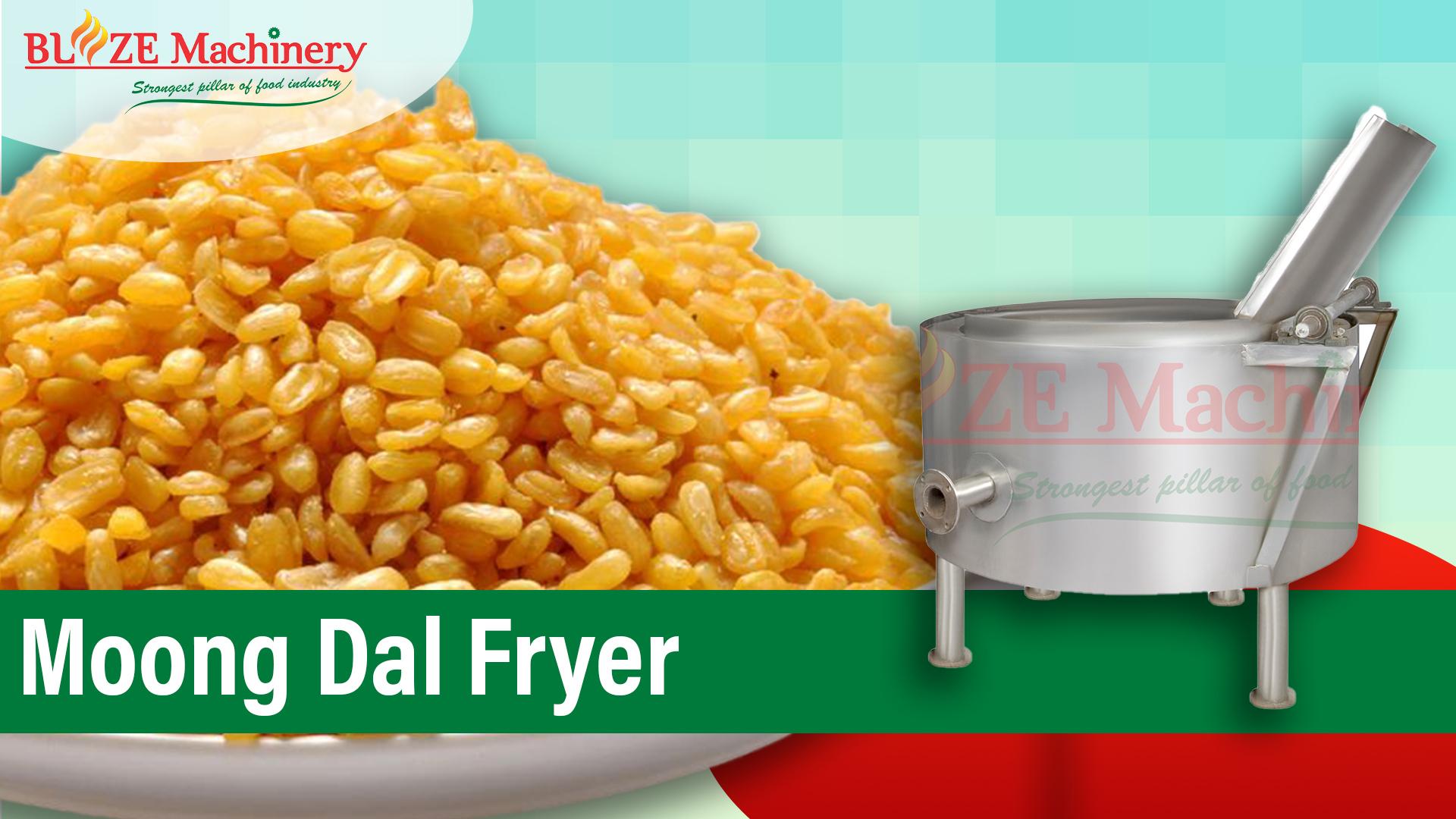 Moong Dal Frying Machine
