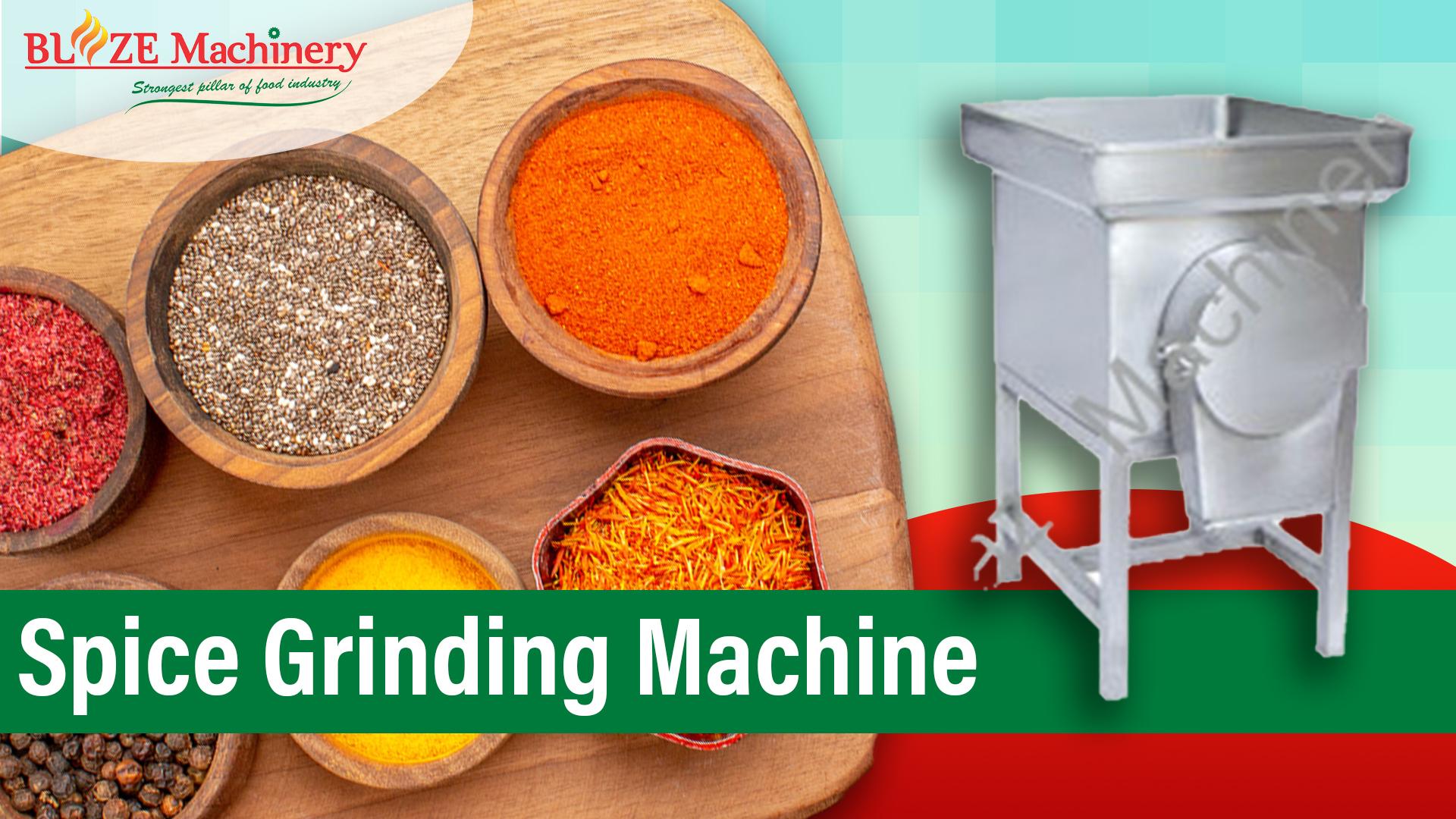 Spice Grinding Machine