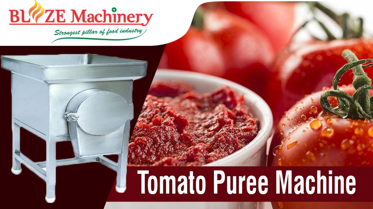 Tomato Puree Machine