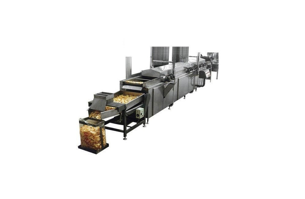 Continuous Frying System Wood Operated